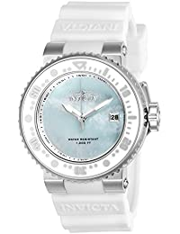 Invicta Damen-Armbanduhr Analog Quarz Silikon-22668