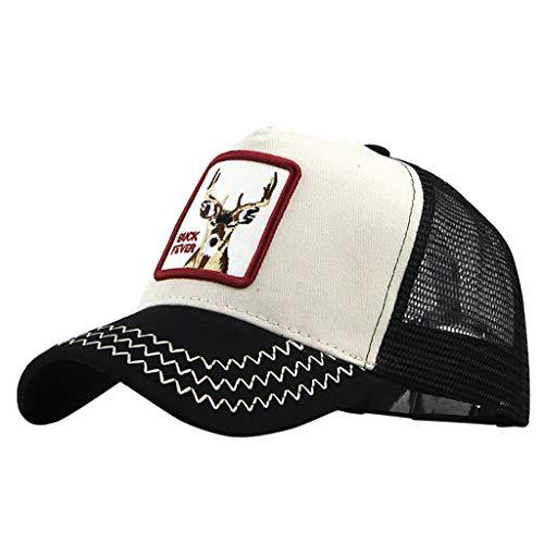 Imagen de ❤rytejfes  beisbol casual pescador sombrero sombrero de sol visera plegable camuflaje animal de bordado upf 50+ ajustable malla transpirable anti uv para aire libre viaje selva exterior