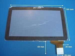 """Vitre tactile 10.1"""" noire pour écran tablette POLAROID MIDC118"""