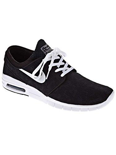 Nike Stefan Janoski Max, Chaussures de Skateboard Homme noir/blanc