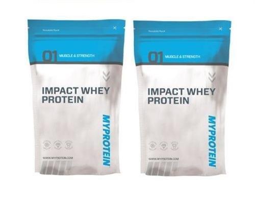 Myprotein Impact proteine del siero del latte-multiple Flavours-polvere-Sacchetto-1kg, 2.5kg,