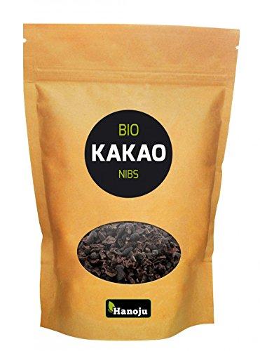 Hanoju Kakao Nibs, im Paperbag, Bio-zertifiziert, 1er Pack (1 x 1 kg)