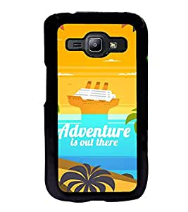 Fuson Adventure Is Out There Designer Back Case Cover for Samsung Galaxy J1 (2015) :: Samsung Galaxy J1 4G (2015) :: Samsung Galaxy J1 4G Duos :: Samsung Galaxy J1 J100F J100Fn J100H J100H/Dd J100H/Ds J100M J100Mu (Abstact Art Paint Painting Illustrations)