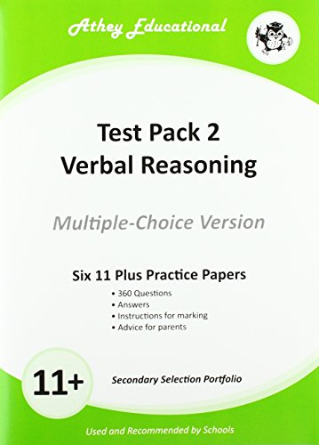 Secondary Selection Portfolio: Verbal Reasoning Practice Papers (Multiple-choice Version) Test Pack 2