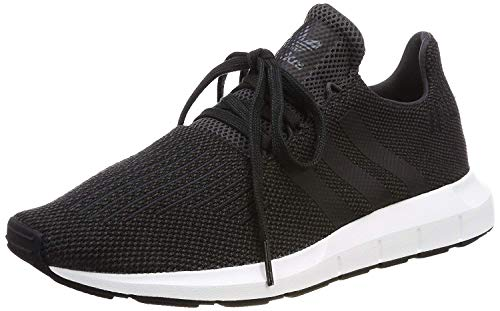 ADIDAS Swift Run, Zapatillas para Hombre, Negro (Black/Carbon/Core Black/Medium Grey Heather Cq2114), 42 2/3 EU