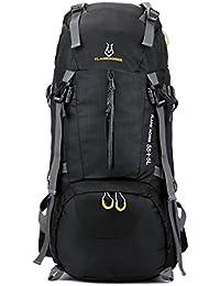 Senderismo mochila, 60L al aire libre Deporte Daypack mochila de viaje Bolsa de equipaje para