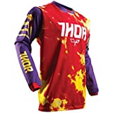 Maillot Cross THOR Pulse Tydy - Enfant - Violet / Fire - Gamme 2017 - Taille S