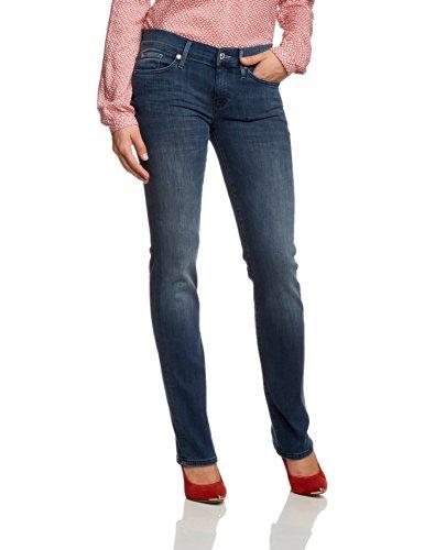 7 for all mankind Damen Straight Leg Jeans