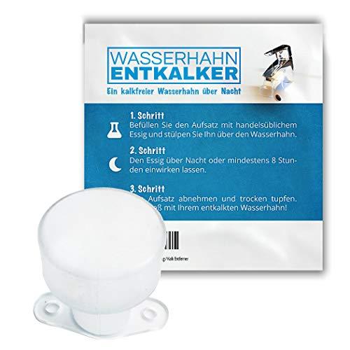 Wasserhahn Entkalker - Entkalken über Nacht mit handelsüblichem Essig / Kalk Entferner