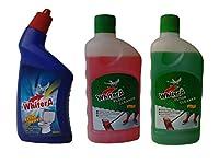 WhiterA Floor cleaner 500ml Pink,Green & WhiterA Extra Power 500ml