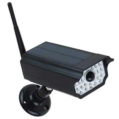 Wasserdichte Außenbeleuchtung, TianranRT Solar Imitation Monitor Lichter Outdoor LED Wandleuchte Home Menschlicher Körper Induktionslampe Garden Street 360-Grad-Drehung (Squishy Menschlichen Körper)