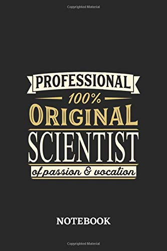 Mad Scientist Kit - Professional Original Scientist Notebook of Passion
