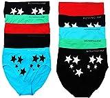 Nowingline Underwear 10er Pack Damen Slips in Einfarbig und mit Muster gemischt in den Größen 42-54 (44)