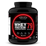 Sinew Nutrition Instantised Raw & Real Whey Protein Concentrate 79% - 3 Kg (Unflavoured)
