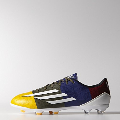 adidas F10 Fg Messi, Chaussures de football homme Orange