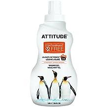 Attitude - Detergente líquido lavadora Cítrico Attitude, 35 dosis