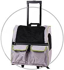 3in1 Hundetrolley / Rucksack / transportbox mit Taschen