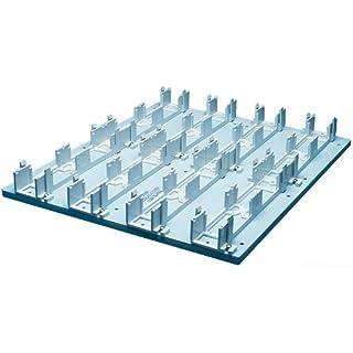 Allen Tel Products GB183B1M Full Module, 17-Inch By 20-Inch Backboard, Blue Metal