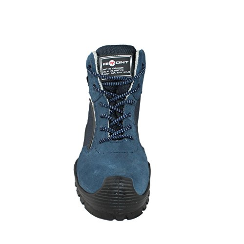 Aimont Faber S1P SRC Sicherheitsschuhe Arbeitsschuhe Trekkingschuhe hoch Blau Blau