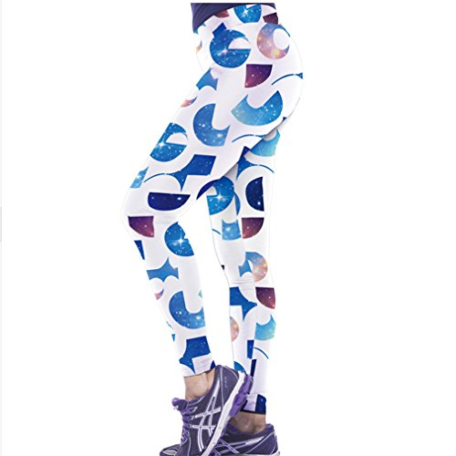 Belsen - Legging - Femme multicolore tigre M letter