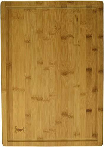 Einfach Bambus 20x 14Valencia Bamboo Schneidebrett W/Saftrille (Totally Schneidebrett Bamboo)