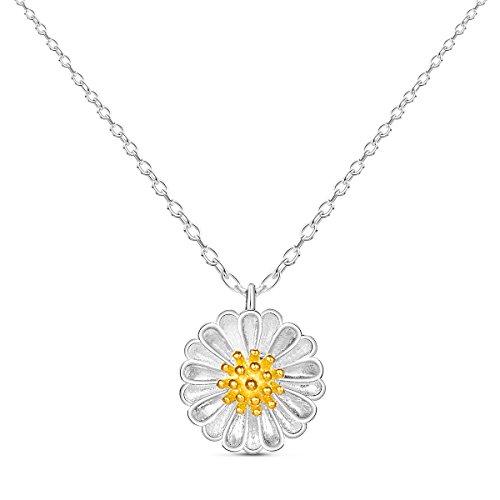 sweetie-925-pur-argent-collier-avec-daisy-pendentif-argent-400mm