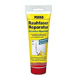 Pufas 333 Rauhfaser Tapeten-Reparatur Struktur-Spachtel, Weiß, 330g