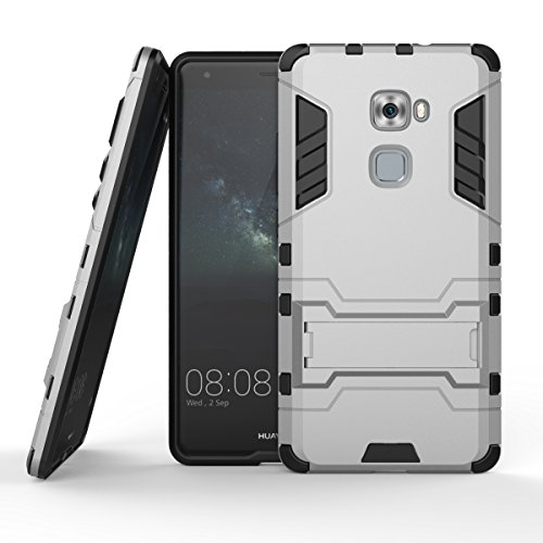 Honor 5X Hülle,EVERGREENBUYING Abnehmbare Hybrid Schein KIW-TL00 Cases Ultra-dünne Schutzhülle Case Cover mit Ständer für Huawei Honor 5X (Gold+Schwarz) Grey
