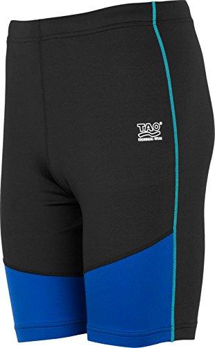 TAO Sportswear Herren Lauftights PULSE Running black/Cobalt