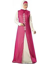 MyBatua Islamic Dress Anjum Abaya Jilbab Burqa