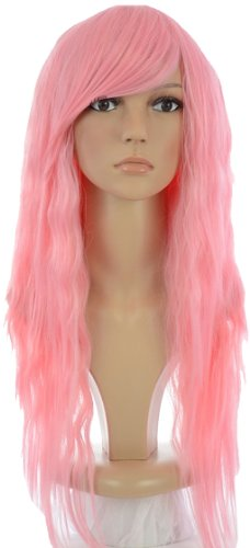 Hair By MissTresses Nicki Minaj style ondulés perruque longue rose