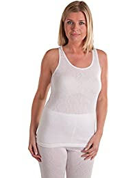 933f309ba805 Octave Ladies/Womens Thermal Underwear Sleeveless Vest/T-Shirt/Top
