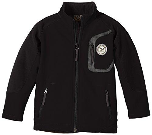 Salewa Kinder Softshelljacke City SW K Jacket, Black/0900/Pock.0900, 128, 00-0000021008