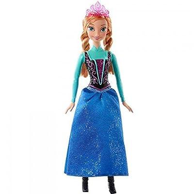 Muñeca Anna de Arendelle Frozen Disney por MATTEL