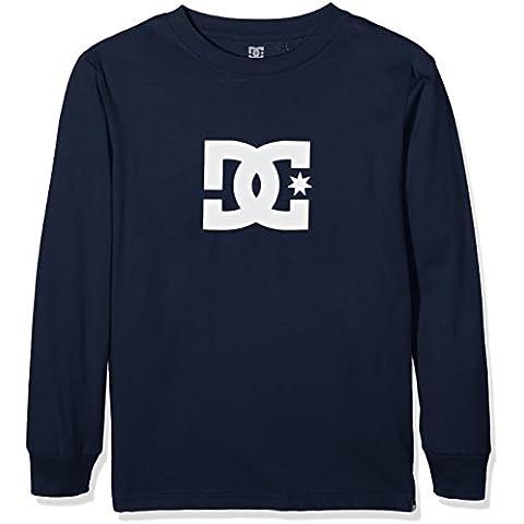 DC Star Long Sleeve, Camiseta de Manga Larga Para Niños, Azul, X-Large