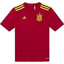 Adidas FEF H Fanshi Y - Camiseta Oficial niño, Color Rojo/Amarillo (Escarl