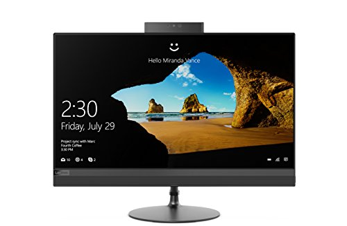 Lenovo IdeaCentre AIO 520 60,45 cm (23,8 Zoll FHD IPS) All-in-One Desktop-PC (Intel Core i7-8700T, 16GB RAM, 512GB SSD, DVD-Brenner, AMD Radeon 530 2GB, Windows 10 Home) schwarz (In Desktop-computer Einem)