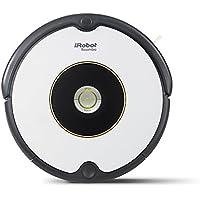 iRobot Roomba 605 Robot Aspirador, Alto Rendimiento de Limpieza, Todo Tipo de Suelos, Atrapa el Pelo de Mascotas, Blanco