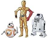 Star Wars B Force Awakens 30,5cm Droid 3Pezzi c-3po, BB-8, ro-4lo Exclusive Figure