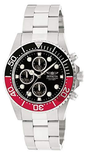 Invicta 1770 Pro Diver Reloj para Hombre acero inoxidable Cuarzo Esfera negro
