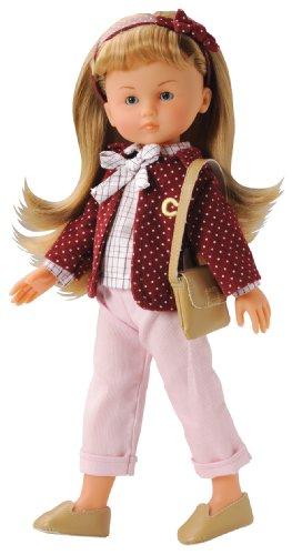 Corolle Y7417 Camille - Muñeca rubia con pantalones y chaqueta