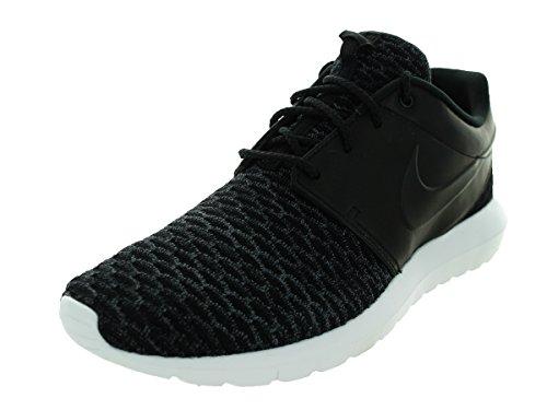 Nike Roshe Nm Flyknit Prm, Scarpe da Corsa Uomo, Blu, 44,5 EU black black dark grey white 001