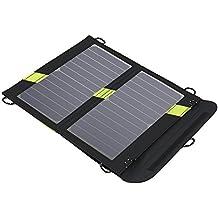 Solar Ladegerät X-DRAGON 14W 2-Port USB Outdoor SunPower Solar Panel Ladegerät für Andriod Smartphone, Tablets, iPhone, iPad Samsung usw.