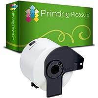 Printing Pleasure DK-11202 62mm x 100mm Etiquetas de dirección (300 Etiquetas por Rollo) compatible para Brother P-Touch QL-500 QL-550 QL-560 QL-570 QL-700 QL-710 QL-720NW QL-1050 QL-1060N