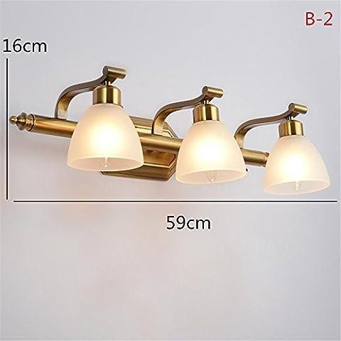 LLHZ-E14 CONTINENTAL, luci dello specchietto, vintage, bagno doccia, make-up lampada da tavolo , b-2