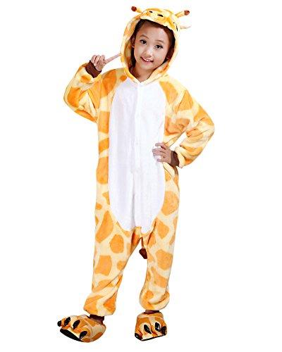 Molly unisex bambini pigiama fumetto halloween costume cosplay giraffa 85