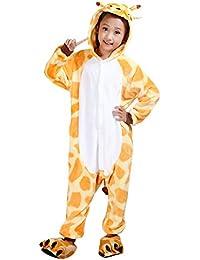 Pijama de Una Pieza - Disfraz de Jirafa con Capucha - para Niño