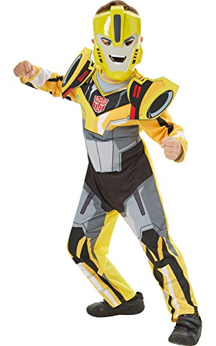Transformer Kostüm Kind - Rubie's 3610612 L - Robots in Disguise Bumblee Bee Deluxe L