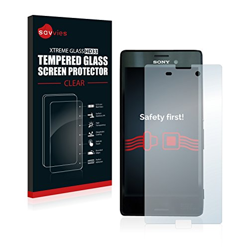 savvies-tempered-glass-sony-xperia-m4-aqua-screen-protector-hd-ultra-clear-9h-hardness-033mm