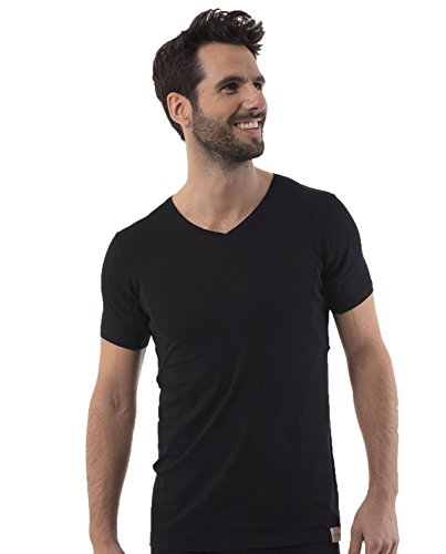 rj-traditional-bodywear-37-026-mens-the-good-life-black-lyocell-cotton-short-sleeve-top-xxlarge